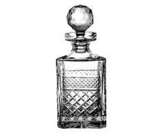 Crystaljulia 9516 – Bicchieri Whisky caraffa cristallo al piombo 0,75 l