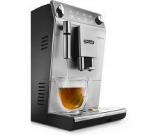 DeLonghi Autentica ETAM29.510.SB Macchina da Caffè Automatica per Espresso e Cappuccino, Caffè in Grani o in Polvere, 1450 W, Argento/Nero