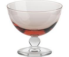 Coppe per gelato, coppe in vetro~PICCOLO~ Altrosa, 10 cm, Vetro trasparente(GELATO VERO powered by CRISTALICA)