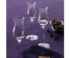 Leonardo Chateau 35298 Set 6 bicchieri da grappa