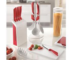 Guzzini Grattugia Kitchen Active Design, Rosso, 19.4 x 8 x h9.4 cm