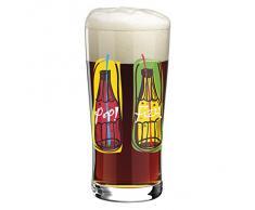 Ritzenhoff - Bicchiere da birra con sottobicchieri, Multicolore