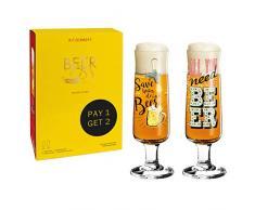 Ritzenhoff 6061001 Set di Bicchieri da Birra, Vetro
