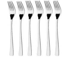 GRÄWE® WÜRZBURG - Set 6 forchette da tavola in acciaio INOX