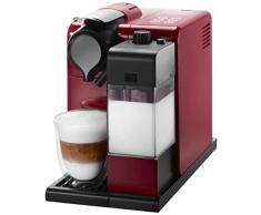Nespresso Lattissima Touch EN550.R Macchina per Caffè Espresso, Colore Glam Red