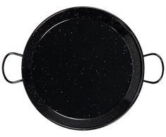 Vaello 746860 Paellera Ferro smaltato cm60 Pentole e Preparazione Cucina, Acciaio Inossidabile