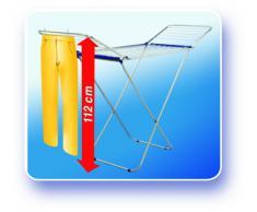 Leifheit 81151 Stendibiancheria Siena 180 Alluminio