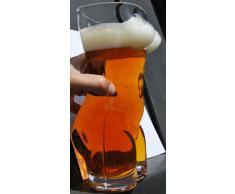 Sexy Torso Beer Glass 2.5 Pinte | Adult novità Bicchiere da birra, birra Regali per gli uomini