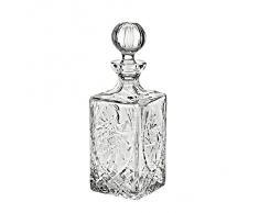 "Caraffa, decanter ""Schleuderstern"", 1000ml, trasparente, cristallo, stile moderne (GERMAN CRYSTAL powered by CRISTALICA)"