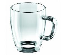 Tescoma - Tazza Mug In Vetro, 1 pezzo