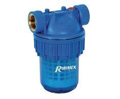 """Ribiland PRFIL5S3UV Filtro per Acqua, 5"""", con Cartuccia, Blu"""