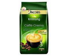 Jacobs Krönung Caffè Crema Classico, Chicchi Interi, Caffè, Accessori Bar, 1000g