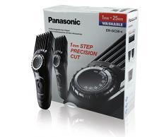 Panasonic ER-GC50-K503 Tagliacapelli Lavabile con Taglio 1-25 mm in 25 Step, Ricaricabile