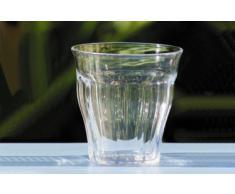 Set di 6 bicchieri St Bart in policarbonato