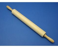 Panetta casalinghi turning mattarello in legno, beige, 5Â x 40Â cm, Legno, Beige, 5 x 50 cm