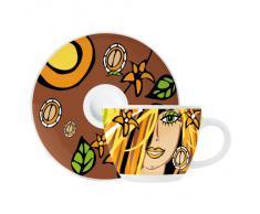Ritzenhoff 1580109 Pakulla F14 - Tazzina da caffè espresso