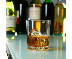 Elite Premium, bicchieri da cocktail in policarbonato, da 230 ml, confezione da 4 bicchieri, in plastica, riutilizzabili, in policarbonato, praticamente indistruttibili, ideali per feste, eventi allaperto e catering