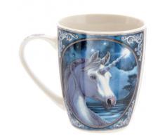 Lisa Parker - Tazza in Porcellana fine, Motivo: Unicorno, in Confezione Regalo