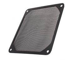 BQLZR PC 120 mm Fan Case Colino filtro in metallo, a rete, resistente alla polvere