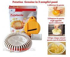 Euronovità Srl Patafacile, attrezzo per realizzare Patatine chips senza oli ne grassi in Microonde