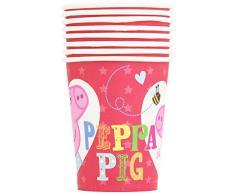 Peppa Pig - Bicchieri carta, - 8 Pezzi