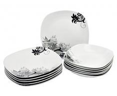 Servizio di piatti quadrati acquista servizi di piatti for Piani cucina quadrati