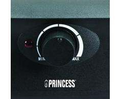 Princess 01.162840.01.001 Raclette con Griglia e Teppanyaki Party per 8 Persone