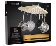 Kitchen Craft Master Class Deluxe Porta utensili da cucina da soffitto, 61x51 cm
