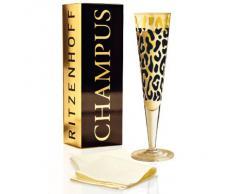 Ritzenhoff 1070151 - Bicchiere da champagne Cavallaro