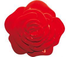 ZAK Designs 0078-0901 - Sottopiatto a forma di rosa, colore: Rosso