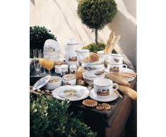 Villeroy & Boch Design Naif Piattino Tazza, Porcellana Premium