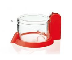 Guzzini Forme Casa 165054-31 Formaggera, Plastica, Rosso, Diametro 15 cm