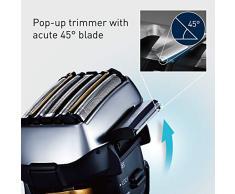 Panasonic Germania ES LV6Q S803 Premium rasoio con flessibile 3d della testina, Rasoio elettrico per uomo, Rasoio a secco/umido, adattare ogni contorno, Nero