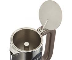 Alessi 9090/3 Caffettiera con Fondo a Induzione di Design in Acciaio Inox, 3 Tazze