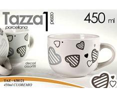 TAZZA LATTE 450 ML CUOREMIO 638121