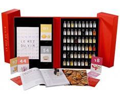 Jean Renoir Le Nez du Vin Il Grande Cofanetto Set per il Sommelier, 54 Aromi, Multicolore