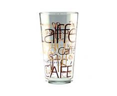 MamboCat - Bicchieri Latte Macchiato, set da 2, impilabili, da 39 cl