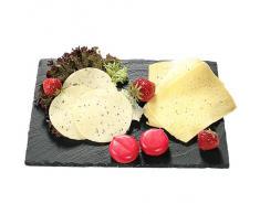 piatto da portata antipastiera buffet ardesia 30x20cm