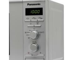 Panasonic NN-J161MMEPG Forno a Microonde Combinato, 20 l, 800 W, Argento