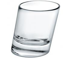 """Bicchiere da liquore, bicchiere da shot, bicchierino grappa """"SAMBA"""" 4 cl, vetro, stile moderno (FAN UNIKATE powered by CRISTALICA)"""
