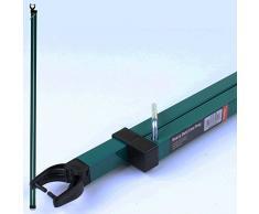 Marko Homewares Supporto telescopico resistente per palo esterno stendibiancheria 2,5 m