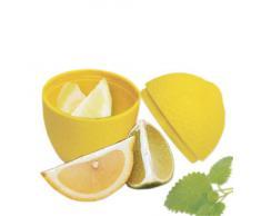 Fackelmann Contenitore Salvafreschezza per Conservare il Limone, Metallo, Multicolore
