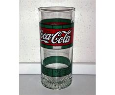 /Coca-Cola - Bicchiere da collezione Tiffany, stile retrò, vintage, 1 x 0,3 litri