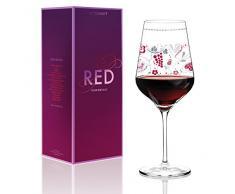 Ritzenhoff 3000017 Design calice da vino, Sandra Brandhofer, autunno 2015, rosso