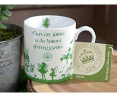 Creative Tops - Tazza in porcellana, soggetto: fate dei Giardini Botanici Reali di Kew