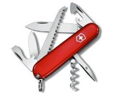 Victorinox 1.3613.71- Coltellino Multiuso, Camper Rosso, 9 x 2.5 x 1.2 cm