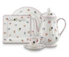 Villeroy & Boch Petite Fleur Piattino per Tazzina da Caffè, 13 cm, Porcellana Premium, Multicolore