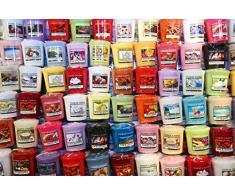 Yankee Candle-Candele Votive profumate, confezione da 10, colori assortiti