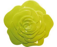 ZAK Designs 0204-0901 - Sottopiatto a Forma di Rosa, Colore: Verde