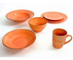 QUID, Tazza jumbo, set da 6 pz., Arancione (orange)
